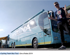 Astana Cycling Team Bus Tour