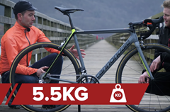 Cannondale Supersix Evo o váze 5,5 kg